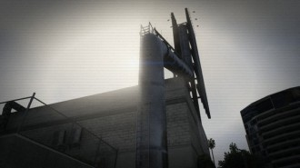 Alien Artefact 10 (Vespucci - way up around the back)