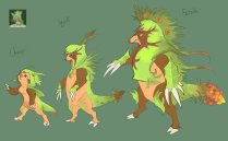 pokemon_x_and_y__chespin_and_evolutions_by_tornaroundtheedges-d5qwipq