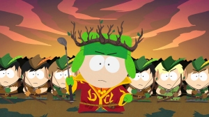 Whilst Cartman leads the humans, Kyle is the head of the Drow Elves